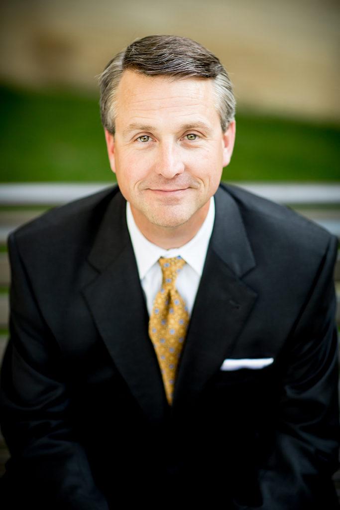 Portrait photo of Judson President Gene Crume.